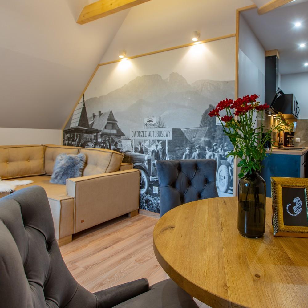 Stacja Zakopane apartamenty - Salonka Glamour